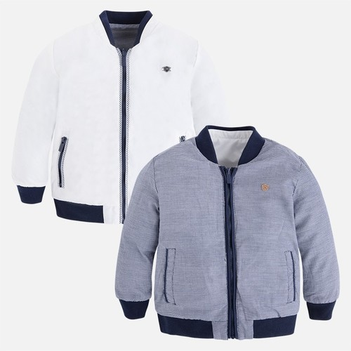 Molo kids fashion    Mayoral kifordítható átmeneti kabát Fiú Átmeneti  kabátok c3ac31f380